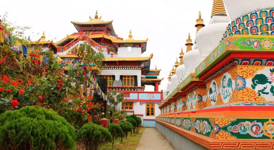 One of the many Monasteries at Kalimpong Image Credits: naturalhighsafaris.com