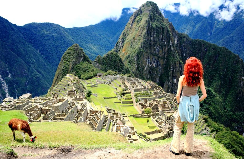 Machu Picchu in the Inca Trail