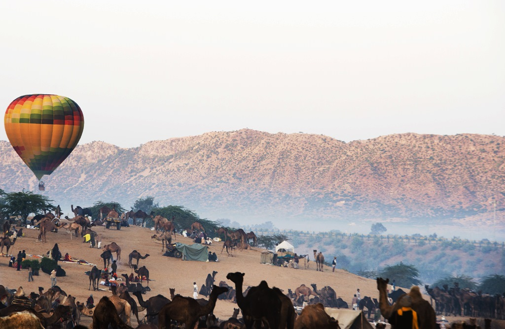 Hot Air Ballooning in Rajasthan India