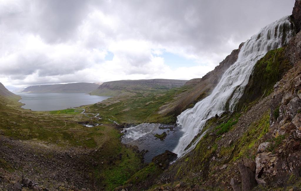 Dynjandi Falls Iceland