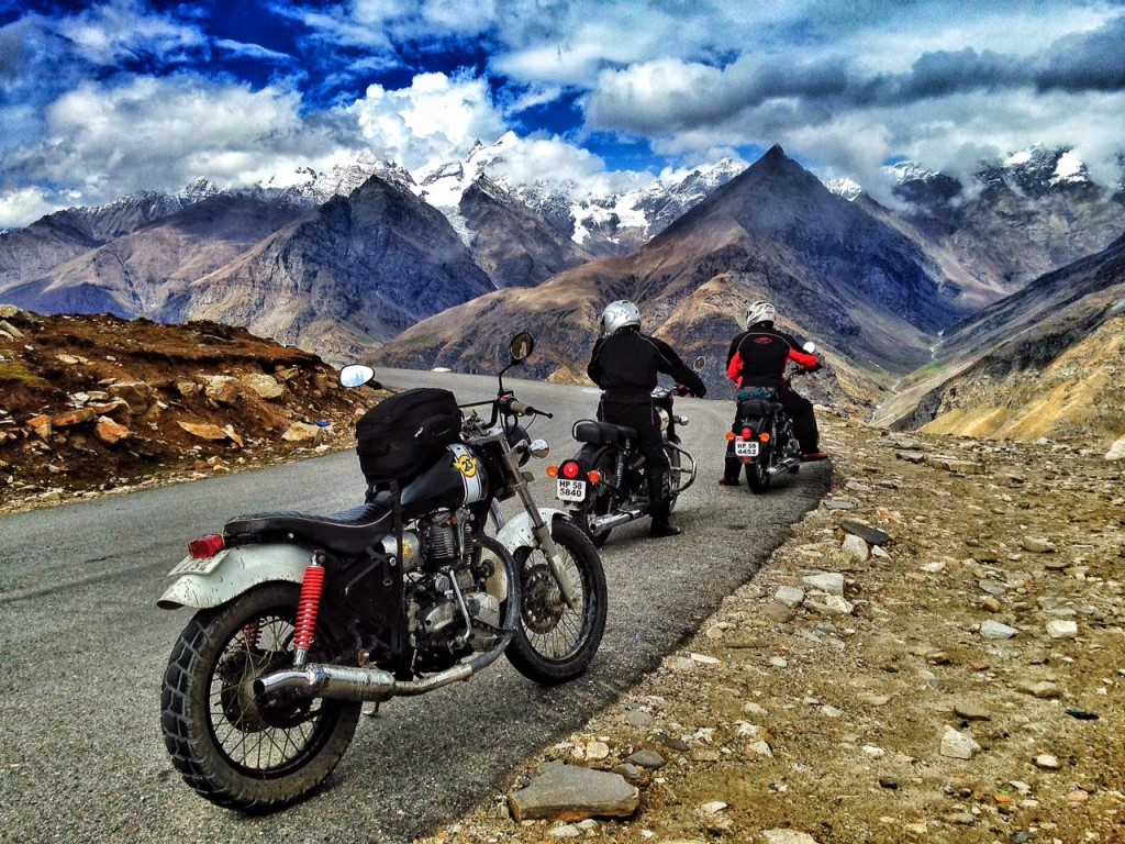 Bike trip to Lahaul Spiti