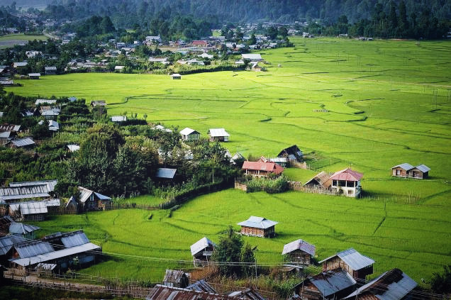 The Scenic Ziro Valley Image Credit- thehindu.com