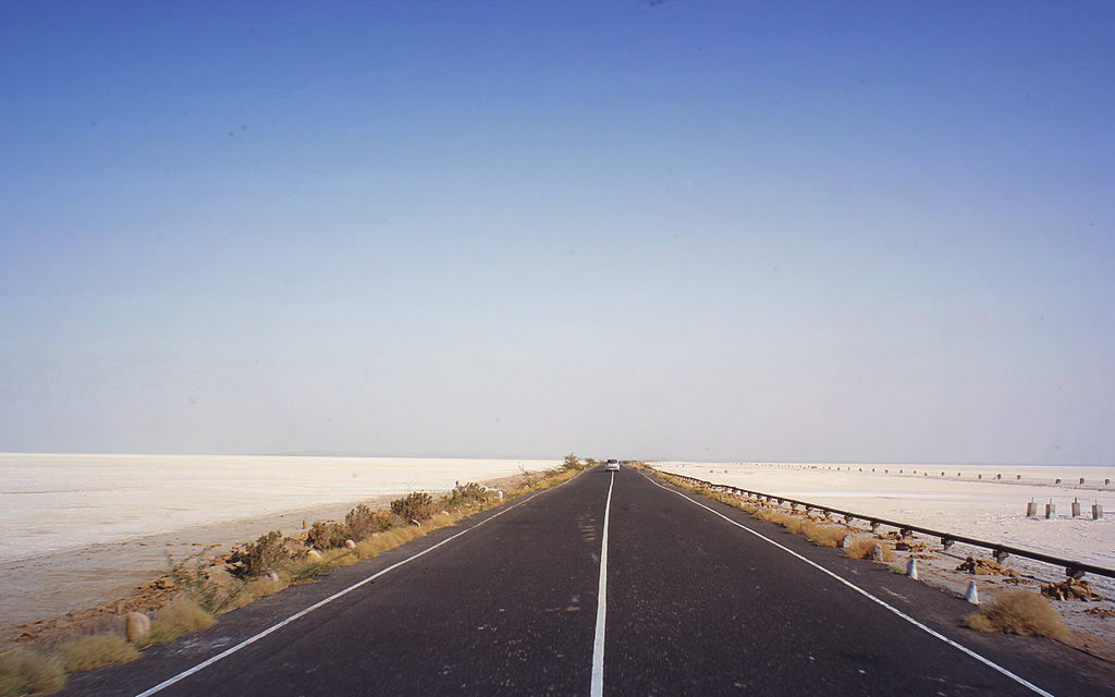 The Highway to Rann of Kutch