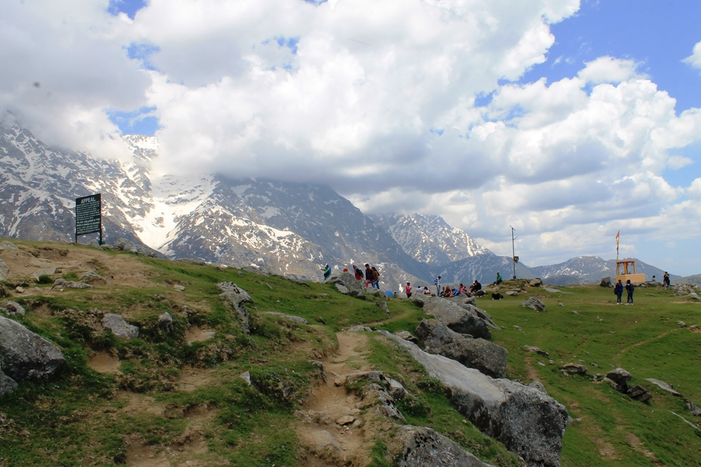 Triund Top - weekend trek from Delhi