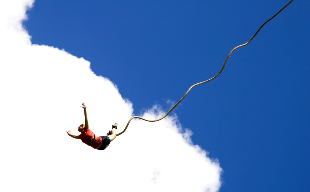 One of the most adrenaline pumping activities - Bungee Jumping!