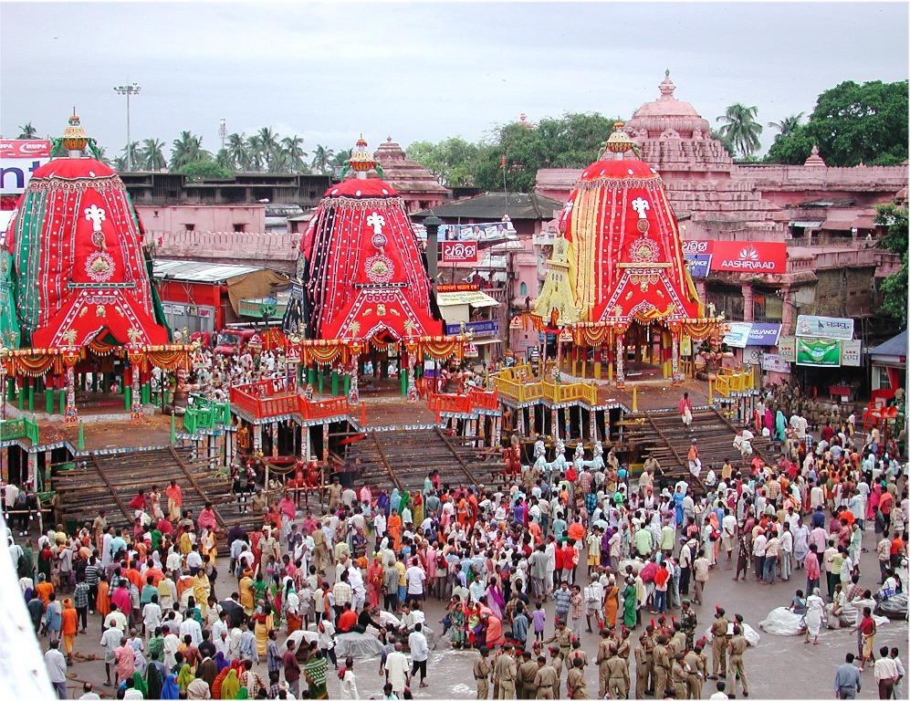 Celebrations during the Puri Rath Yatra