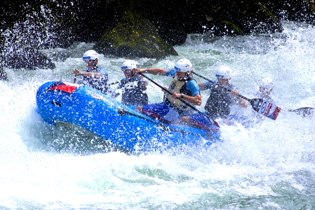 Rafting at Kundalika is an absolutely exhilarating experience!