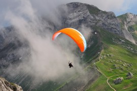 Paragliding gives you the freedom to fly!