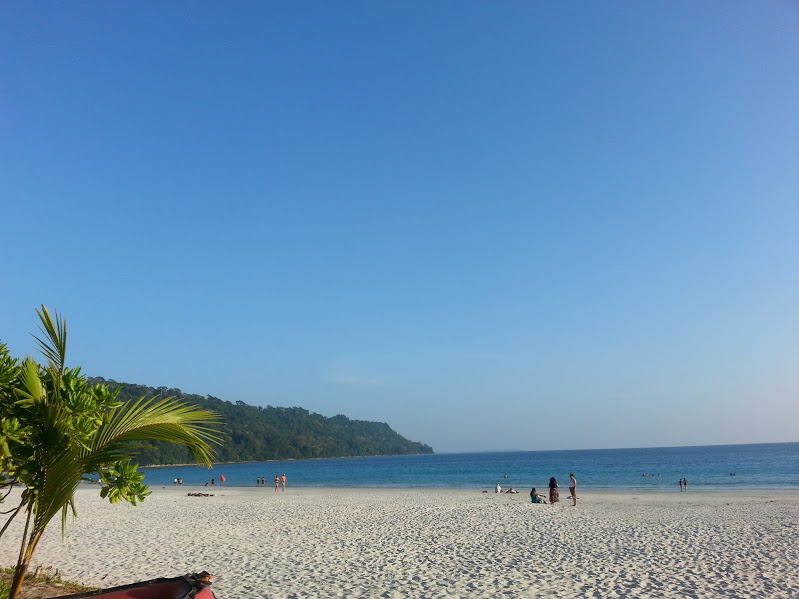 The picture perfect Radhanagar Beach at Andaman