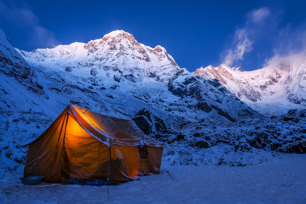 Camping in the Annapurna Sanctuary