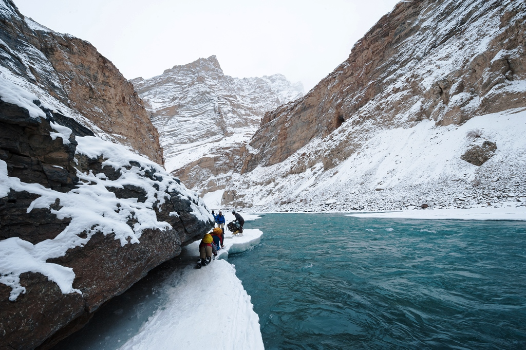 The thrilling Chadar Frozen River Trek
