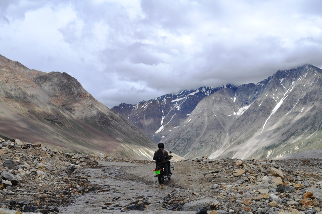 You and your bike - Spiti Valley!