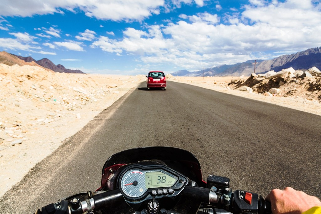 Ladakh is a popular destination for Motorbike Expeditions
