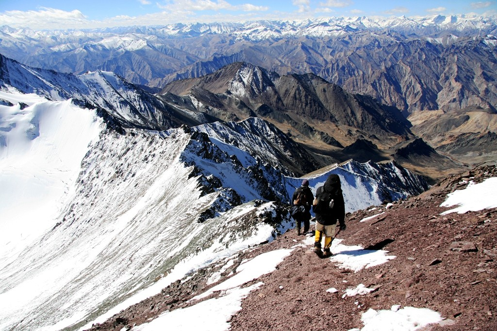 The very challenging Stok Kangri Expedition