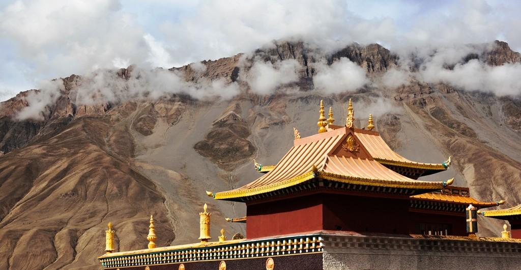 A Buddhist Temple in Kaza