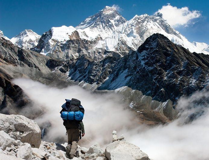 mont everest trek