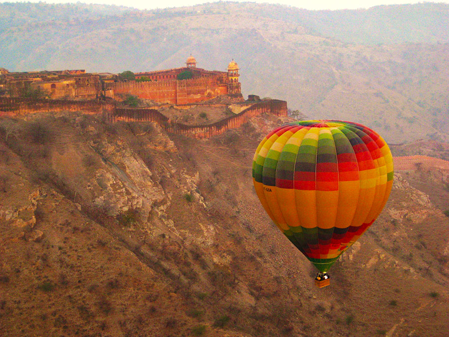 Hot Air Ballooning in Rajasthan, Jaipur