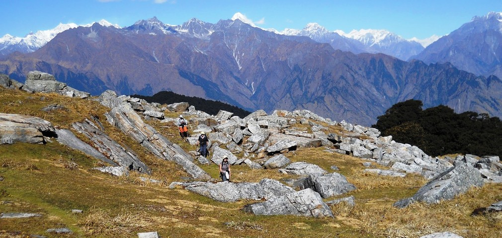 Winter Kuari Pass Trek in Uttarakhand