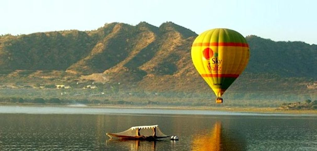 Hot Air Ballooning at Rajasthan