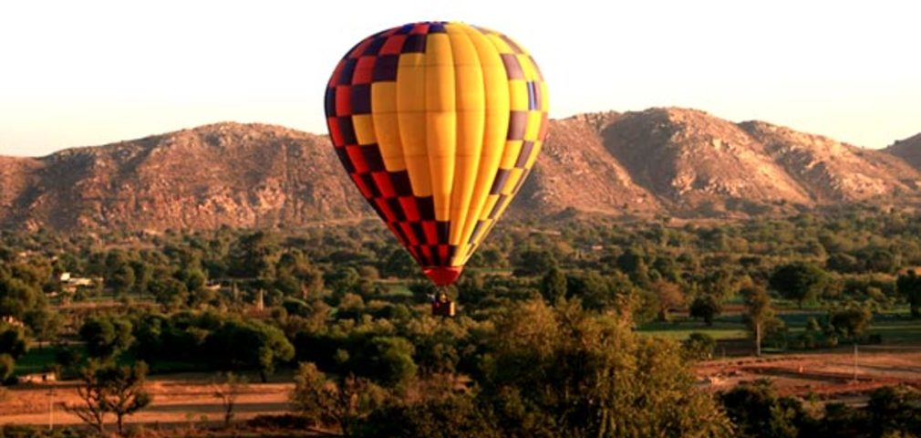 Hot Air Ballooning Rides in Rajasthan
