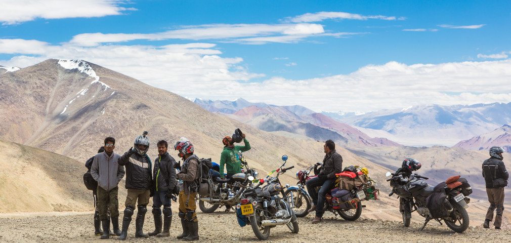 Ladakh motorbike expedition