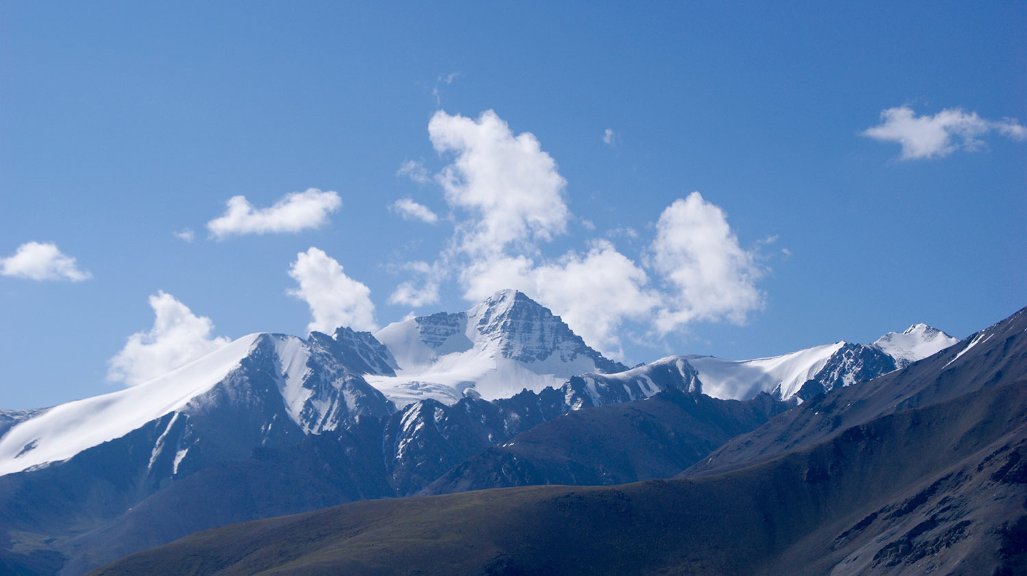 Stok Kangri in the Himalayas