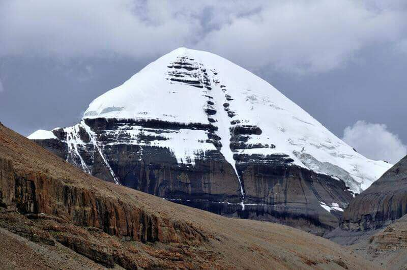 Mt. Kailash in all its might and divinity