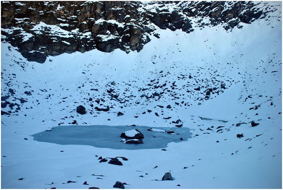 Skeletal Lake; visit at a time when its not completely frozen to spot the skeletal remains buried in the ground