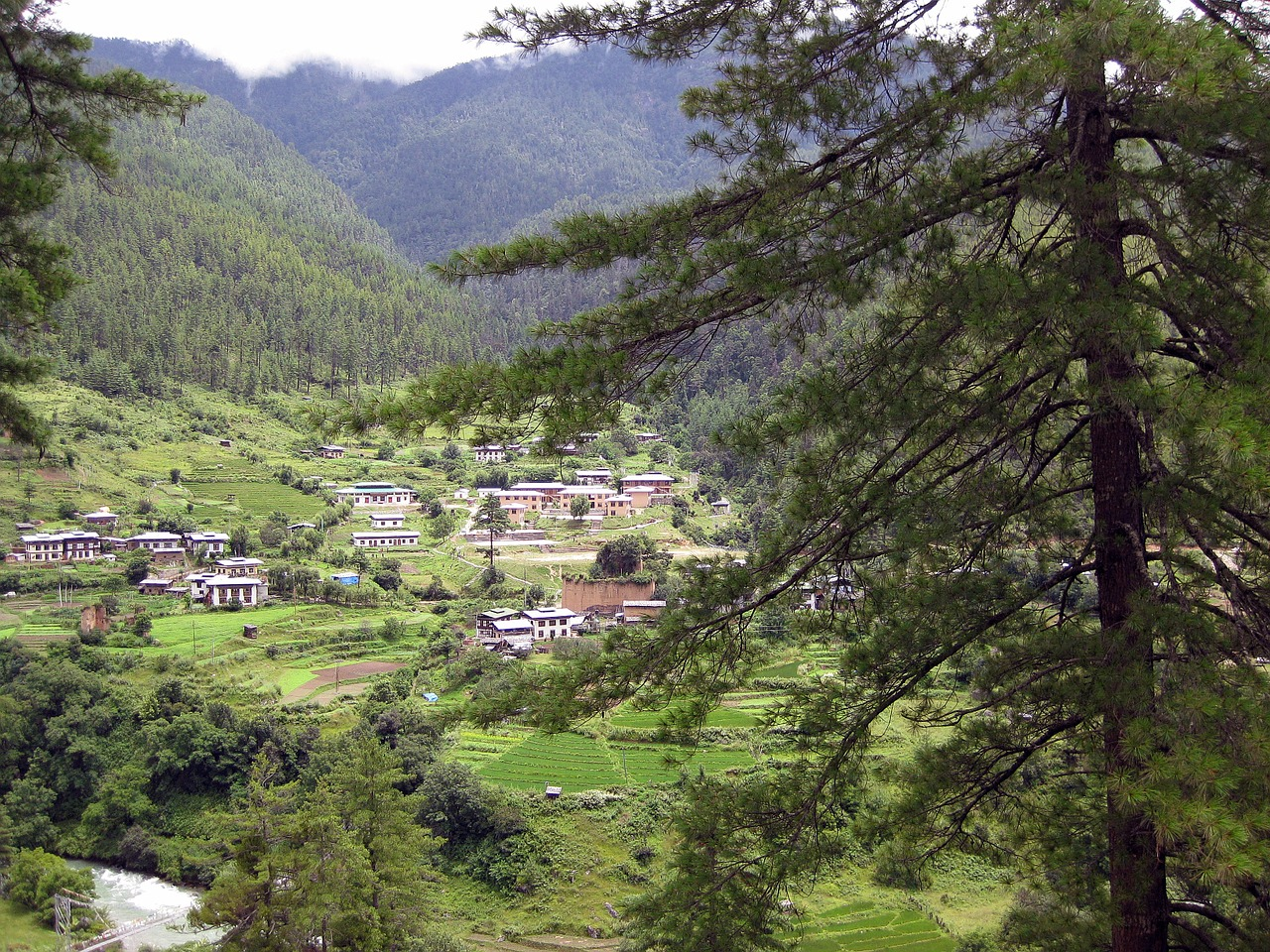 bhutan mountains